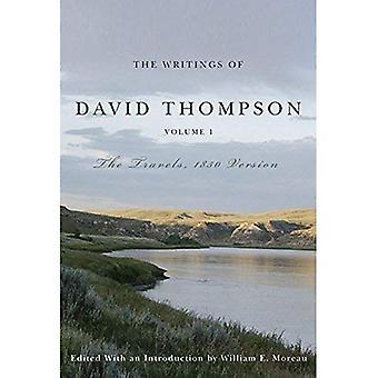 Os escritos de David Thompson, Volume 1
