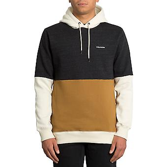 Volcom Single Stone Div Pullover Hoody in Rust
