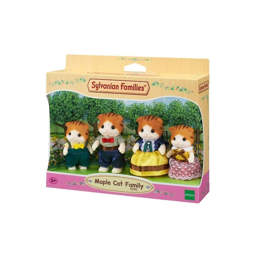 Sylvanian Families 5290 Maple Cat Family