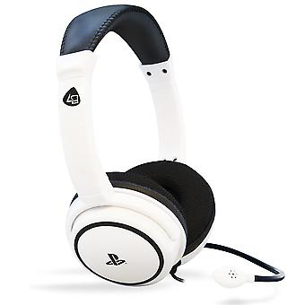 4Gamers PRO4-40-Gaming Headset-Weiß-PS4