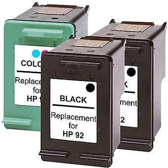 92 Compatible Inkjet Cartridge Set 2  3 Cartridges