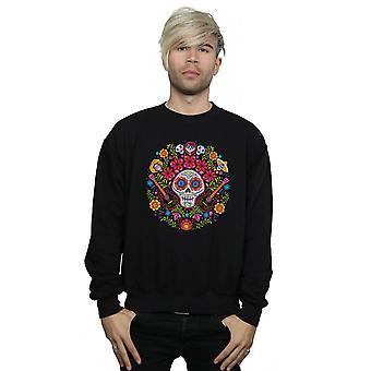Disney mænd ' s Coco broderet kraniet print sweatshirt