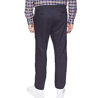 Dockers Men's Big and Tall Modern Tapered Fit Signature, Navy, Size 48W x 30L