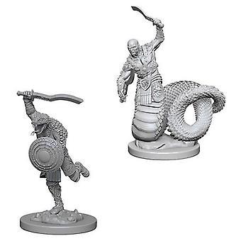 D&D Nolzur's Marvelous Unpainted Miniatures Yuan-Ti Malisons (Pack of 6)