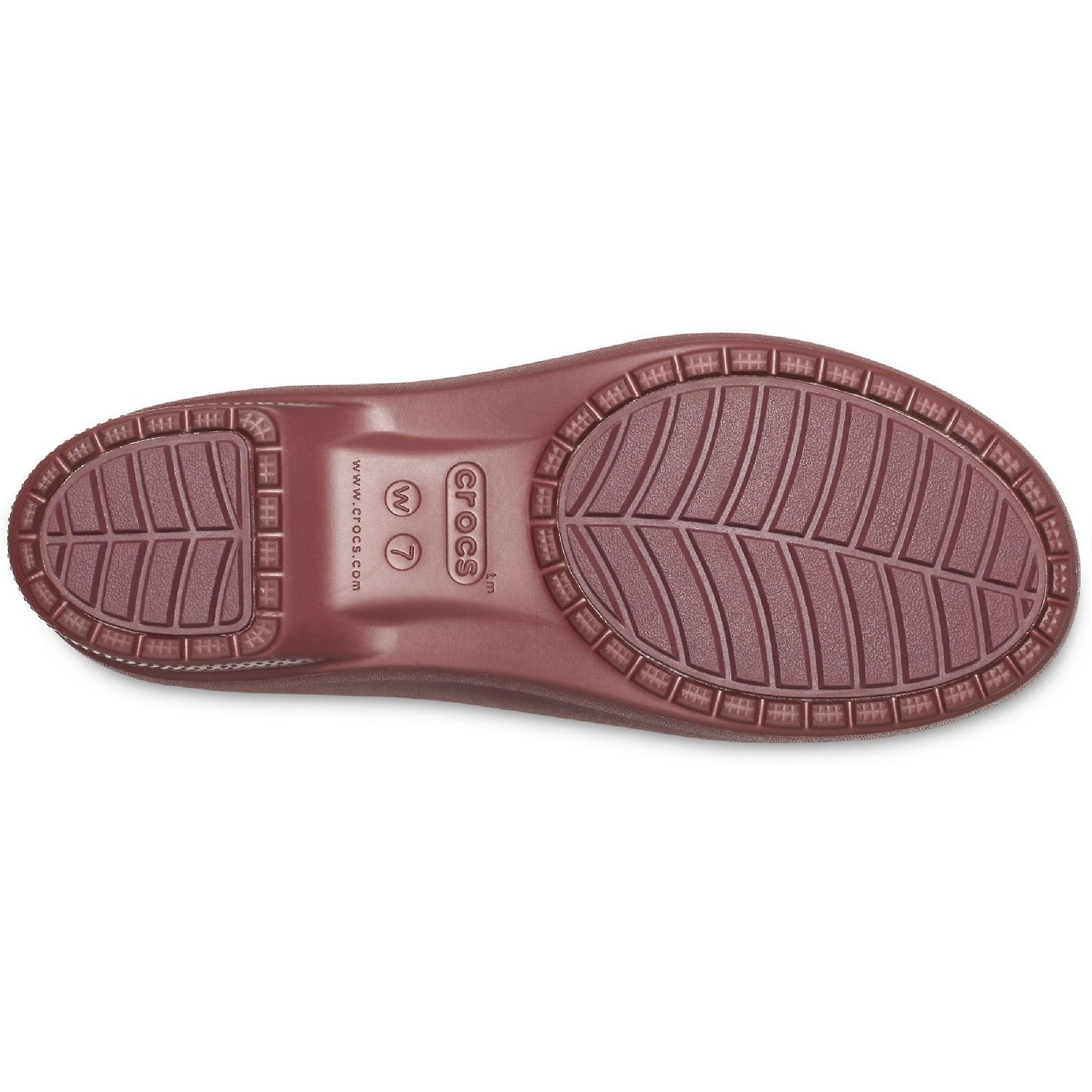 Crocs Womens Freesail Metallic Chelsea Boot