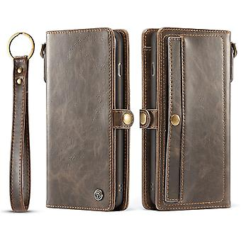 Case For Iphone X Brown Card Holder