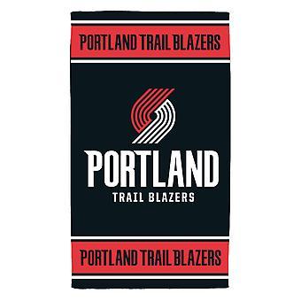 Ręcznik plażowy fanatyków NBA - Portland Trail Blazers