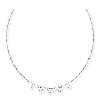 Thomas Sabo Silber Damen Anhänger Halskette - D_KE0009-725-14-L45v