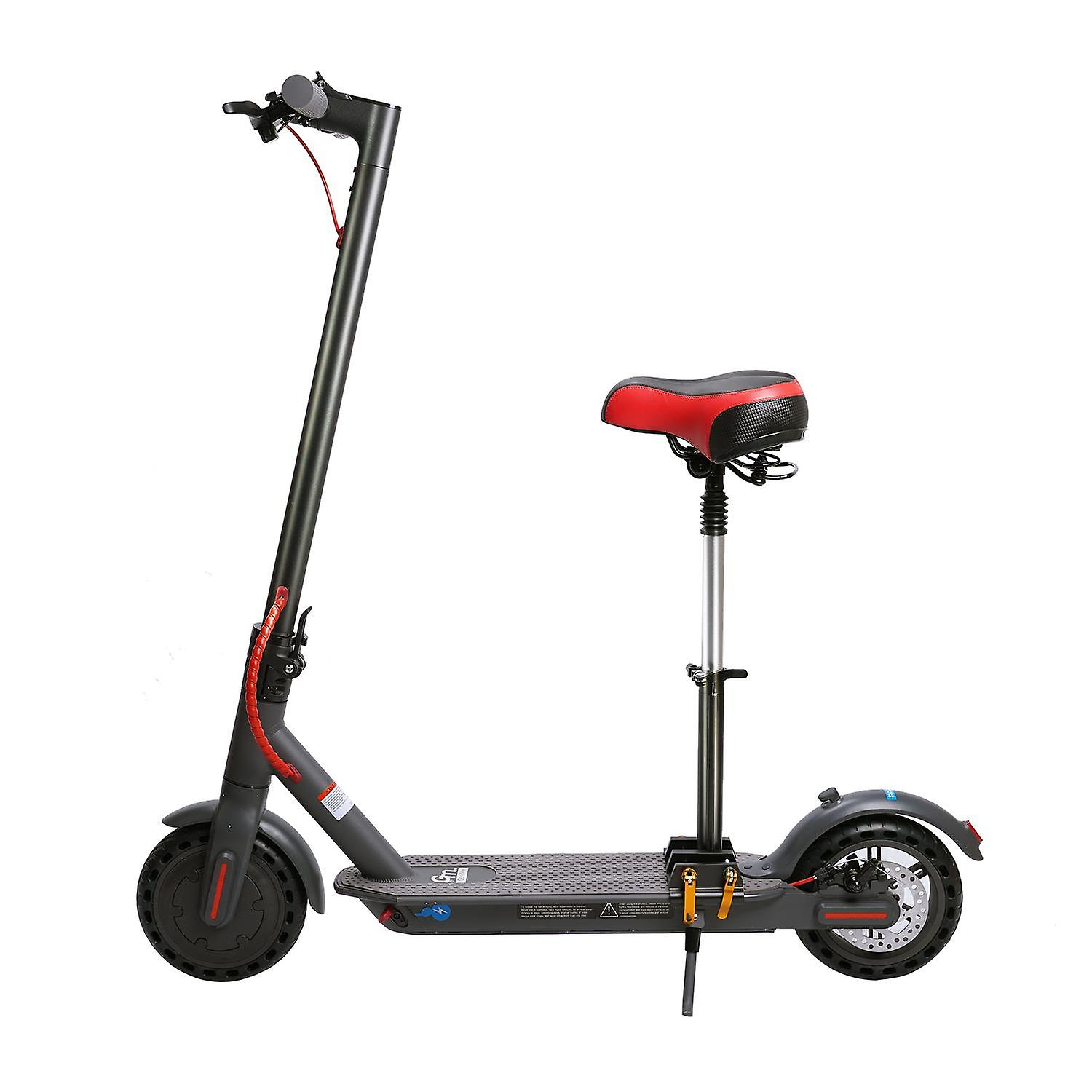 GeekMe Electric Scooter with Seat detachable 8.5 inch Tires City Scooter 25 km/h | Foldable electric scooter with LCD display | 7.5A Li-Ion battery | 120 kg For adults and Teenager