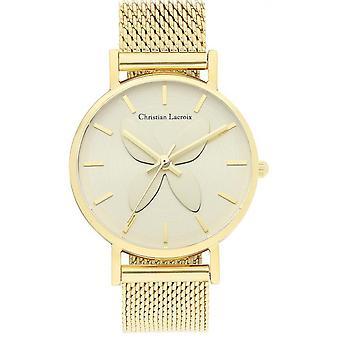 Katso Christian Lacroix kellot CLFH1813-Milanese Dor e naisten maille Watch