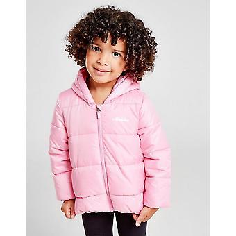 New Ellesse Girls' Padded Jacket Infant Pink