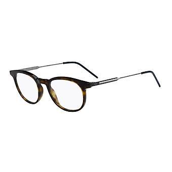Dior Homme Blacktie229 TDD Havana-Matte blauwe bril