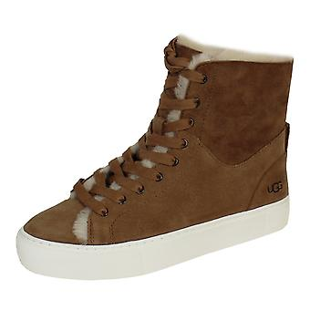 Ugg beven women's chestnut trainers