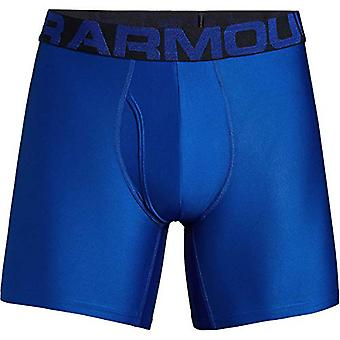 Under Armour Tech 6in Underwear - 2-Pack - Men's, Royal/Academy, Size XXX-Large