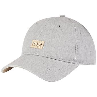 Cayler & sons Curved Strapback Cap - grey HILL