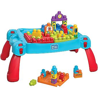 Fisher Price, Build and Learn Table Built - Blue