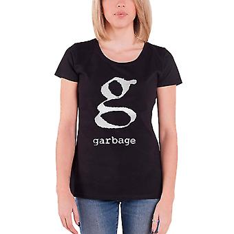 Garbage T Shirt Band Logo Stupid Girl new Official Womens Skinny Fit