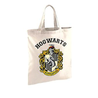 Harry Potter Hufflepuff Crest Tote Bag
