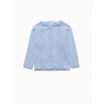 Zippy Nb Cardigan Blue