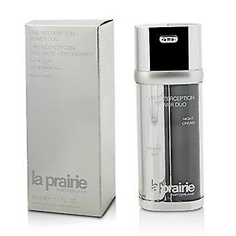 La Prairie Line Interceptie Power Duo - Day Cream Spf30 Pa+++ & Nachtcrème 2x25ml/0,85oz