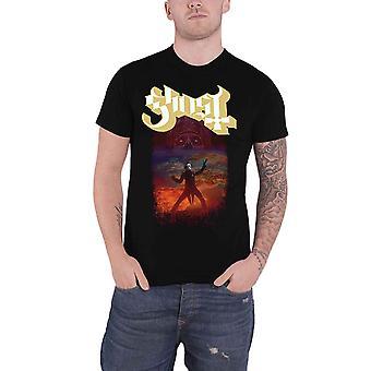 Ghost T Shirt EU Admat Band Logo new Official Mens Black