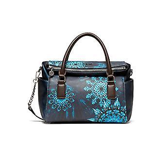 Desigual Blue Woman Handbag (Blue (MARINO 5001)) 14x24x33 cm (B x H x T)