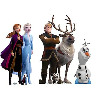 Frozen 2 Official Disney Cardboard Cutout / Standee / Standup Collection - Set of 3