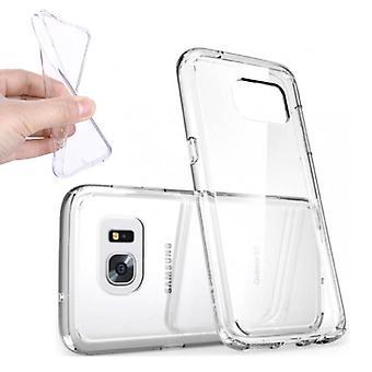 Stuff Certified® 10-Pack Transparent Clear Silicone Case Cover TPU Case Samsung Galaxy S6