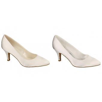أن ميشيل النسائي/السيدات زفاف العرسان زلة على الأحذية