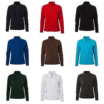 James en Nicholson Womens/Ladies Fleece Jacket.