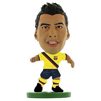 FC Barcelona SoccerStarz Suarez Figure