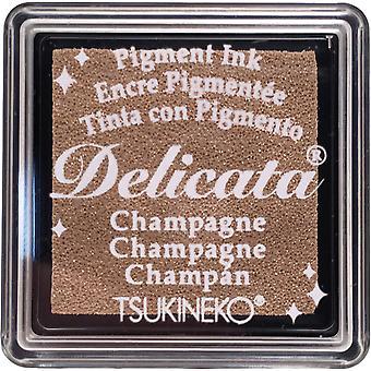 Delicata الحبر الصباغ الصغيرة وسادة الشمبانيا