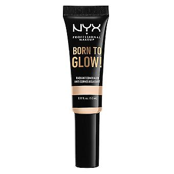 Maquillaje NYX PROF. Nacido para brillar Ocultador Radiante 5.3ml - Feria