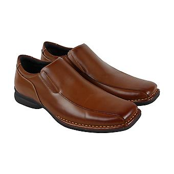 Unlisted by Kenneth Cole Wild Fire Mens Brown Casual Slip On Loafers Shoes