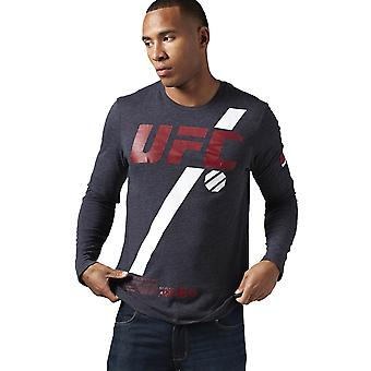 Reebok Ufc Fan Long Sleeve AO2329 training all year men t-shirt