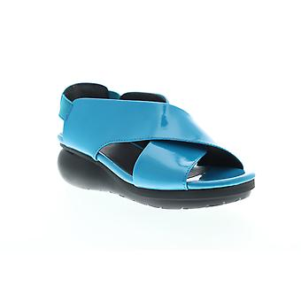 Camper Balloon  Womens Blue Leather Strap Sandals Shoes