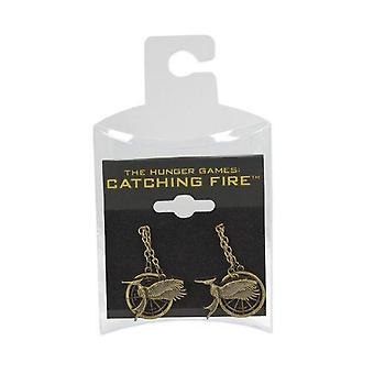 Hunger Games Catching Fire Unisex Mockingjay Earrings