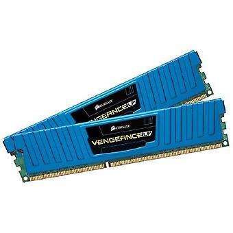 Corsair CML16GX3M2A1600C10B Vengeance Perfil bajo 16 GB De alto rendimiento Memoria de escritorio (2x8 GB), DDR3, 1600 MHz, CL10, con soporte XMP, azul