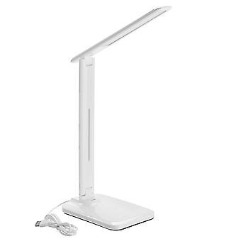 Bezprzewodowa ładowarka Qi LED biurko lampka stołowa lekki odczyt dotykowy dla smartfonów z obsługą qi dla iPhone 11 pro max xiaomi