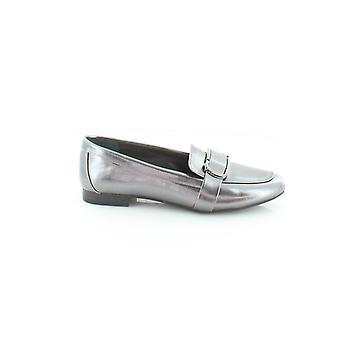 Alfani Womens ceciliaap Crocodile Almond Toe Slide Flats
