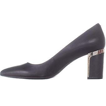 DKNY Womens Elie Leather Pointed Toe Classic Pumps