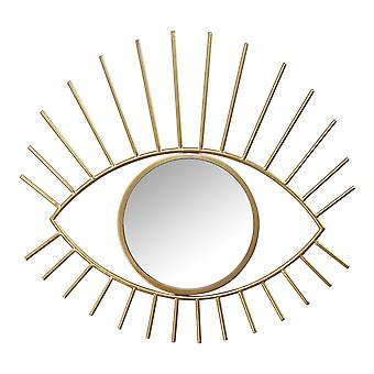 Gouden Metalen Eye Wall Mirror