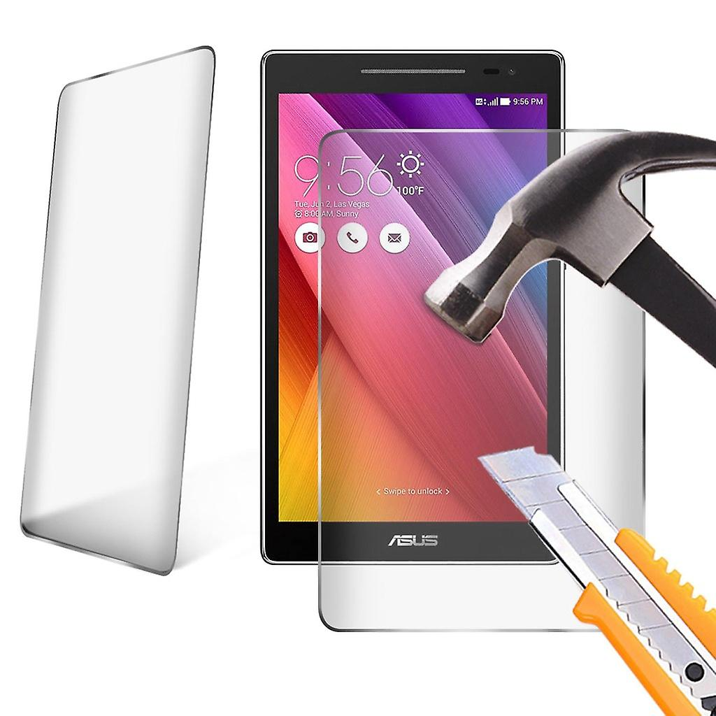 Alcatel OneTouch Pixi 3 8 Tempered Glass LCD Screen Protector Guard for 8 inch Tablet by i-Tronixs-Clear ( Pack of 2)