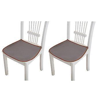 Cool ice silk chair cushion 2pcs