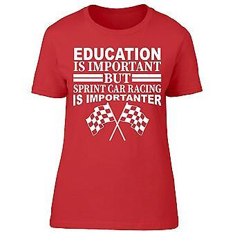 Sprint Car Racing Women's T-shirt