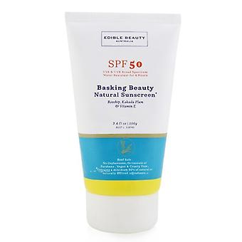 Edible Beauty Basking Beauty Natural Sunscreen SPF 50 100g/3.4oz