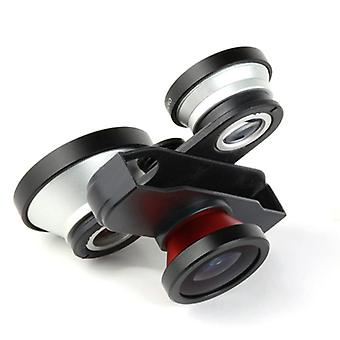 4in1 Fish Eye lentille pour iPhone
