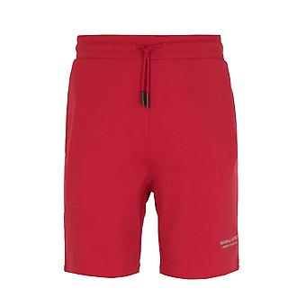 Marshall Artist Non Anth Red Sweat Shorts