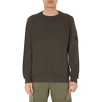 C.p. Company 08cmkn258a004128g677 Men's Green Cotton Sweater