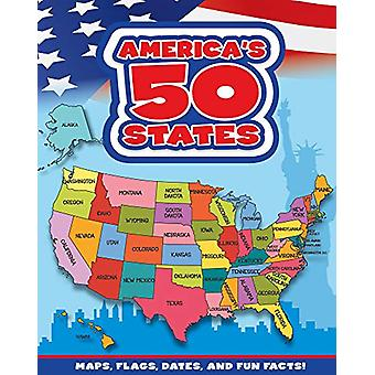 America's 50 States - Maps - Flags - Dates - and Fun Facts! by Flying